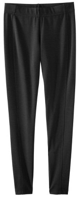 Mossimo labworks for Target Women's Ankle Ponte Pant - Black