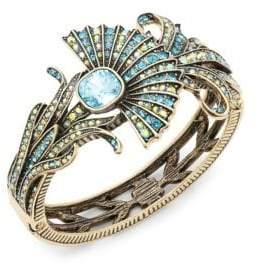 Heidi Daus Crystal Fan Cushion Bracelet