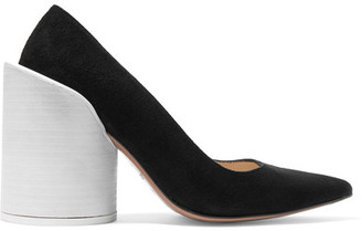 Jacquemus - Suede Pumps - Black $590 thestylecure.com