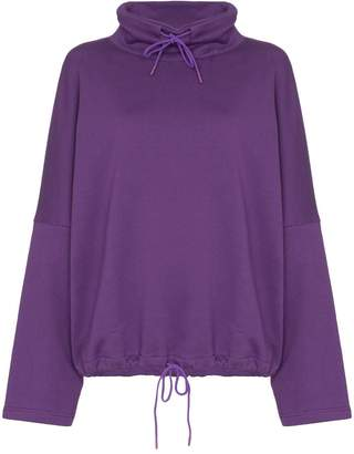 Martine Rose batwing-sleeve oversized sweatshirt