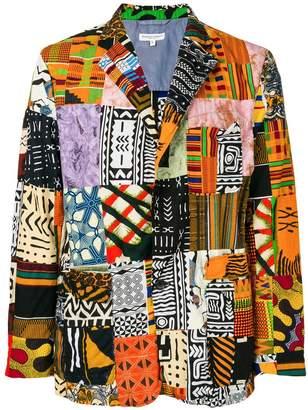 Engineered Garments patchwork blazer