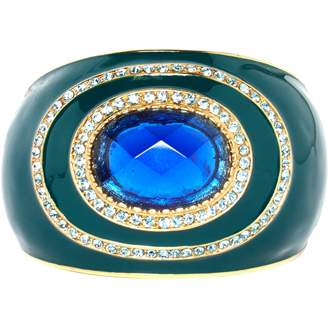 Roberto Cavalli Green Metal Bracelets