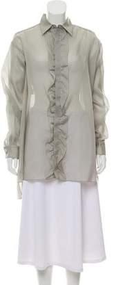 Marni Silk Button-Up Tunic