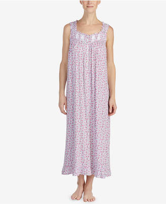 Eileen West Petite Printed Ballet Nightgown