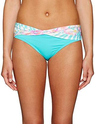 CoCo Reef Women's Bikini Bottom Swimsuit with Banding Detail