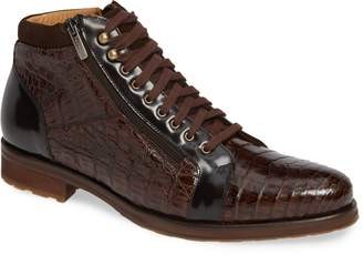 Mezlan Manson Genuine Crocodile Boot