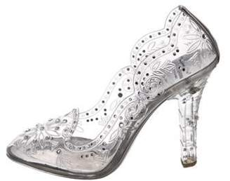 Dolce & Gabbana Glass Slipper PVC Pumps Clear Glass Slipper PVC Pumps