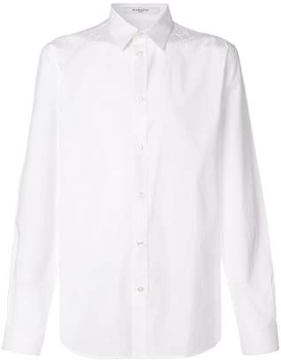 Givenchy classic button Star shirt
