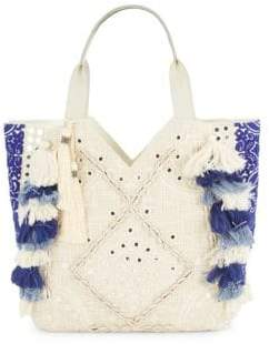 Sam Edelman Kendall Cotton-Blend Satchel Bag