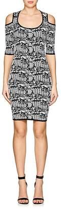 Ali & Jay WOMEN'S COMPACT KNIT COLD-SHOULDER DRESS