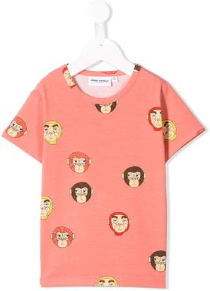 Mini Rodini monkey print T-shirt