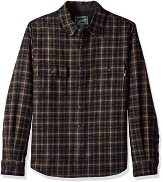 Woolrich Men's Bering Wool Shirt Modern Fit