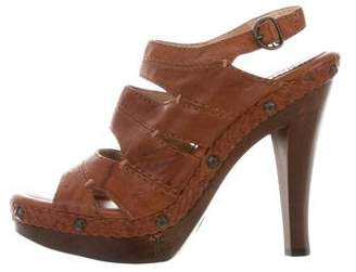 Frye Leather Slingback Sandals