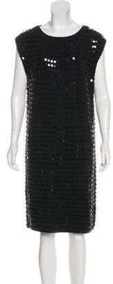 Michael Kors Cashmere Embellished Dress Black Cashmere Embellished Dress