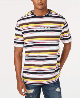 GUESS Originals Men Ashton Striped Logo T-Shirt
