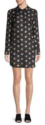 Equipment Silk Brett Star Print Shirtdress