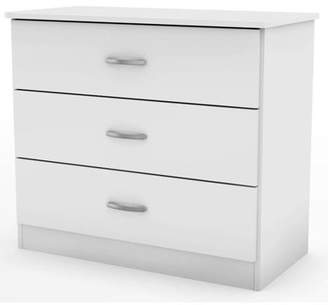South Shore Furniture South Shore Smart Basics 3-Drawer Chest, Multiple Finishes