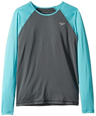 Speedo Kids Long Sleeve Rashguard (Big Kids)