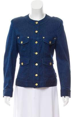 Sonia Rykiel Structured Denim Jacket