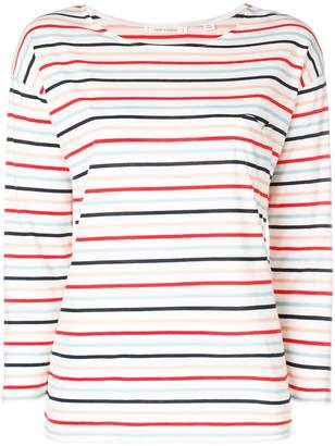 Parker Chinti & striped 3/4 sleeve T-shirt