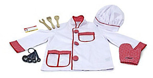 Melissa & Doug Melissa Doug Chef Role Play Costume Set