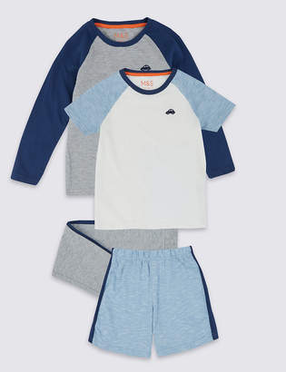 Marks and Spencer 2 Pack Pyjamas Sets (1-7 Years)