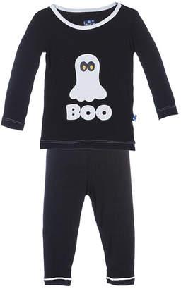 Kickee Pants BOO Pajama Set