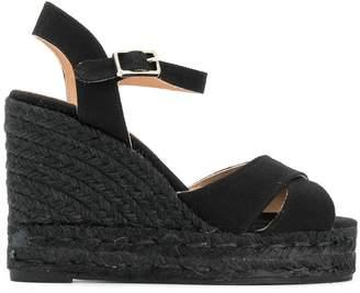Castaner woven slingback sandals
