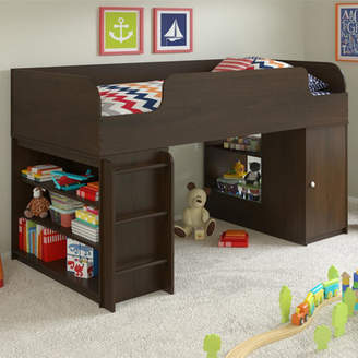 Viv + Rae Truett Twin Panel Bed with Toy Box and Bookcase