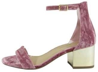 City Classified Velvet Sandal