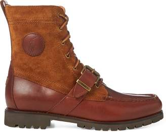 Ralph Lauren Ranger Saddle-Suede Boot