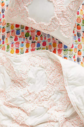 Anthropologie Claremore Toddler Quilt