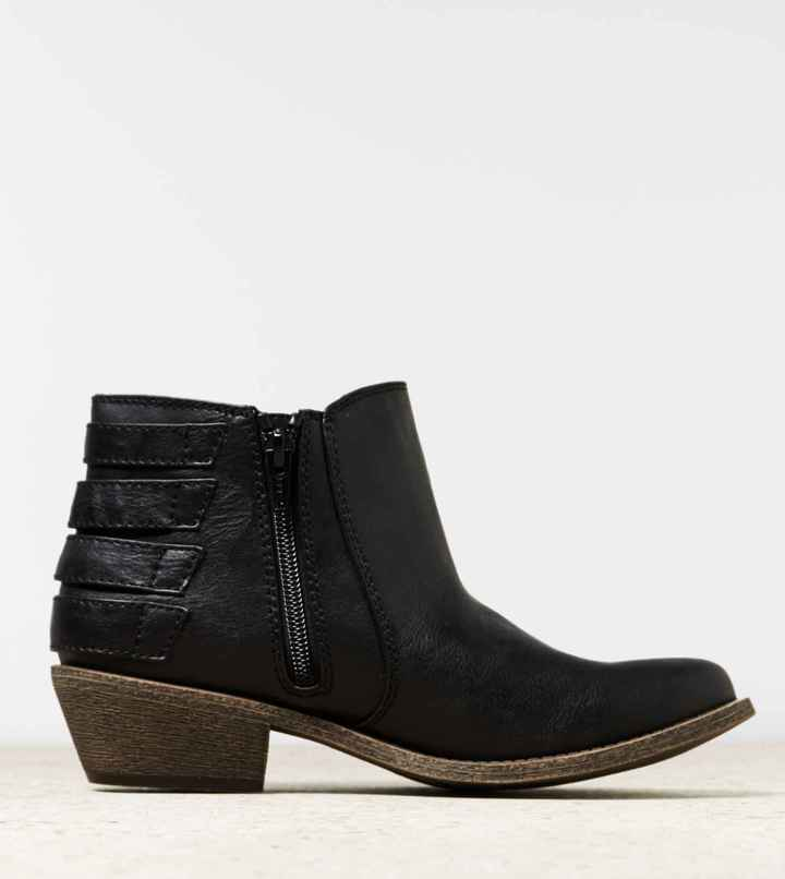 American Eagle AEO Buckle Bootie