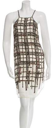3.1 Phillip Lim Beaded Silk Dress