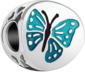Chamilia Sterling Silver Teal Enamel One in a Million Bead