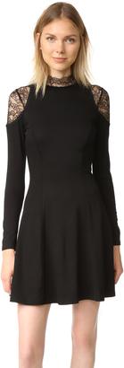 alice + olivia Candice Lace Insert Dress $395 thestylecure.com