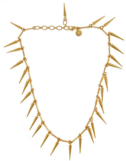 Loren Hope Petite Spike Necklace