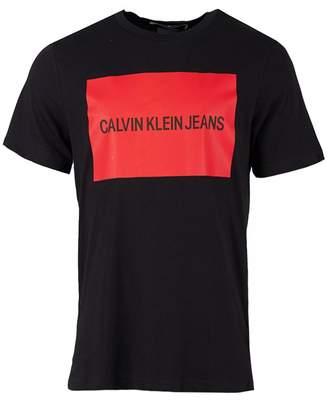 Calvin Klein Institutional Box Script Logo T-shirt