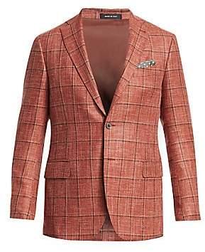 Saks Fifth Avenue Men's COLLECTION Plaid Sportcoat