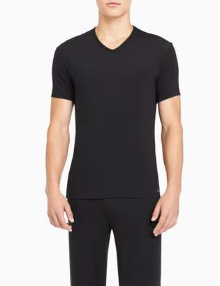 Calvin Klein modern modal v-neck t-shirt