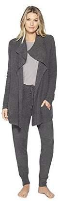 Barefoot Dreams Women Cardigan Long Sleeve - Western Casual Long Sweater - Open Front Classic Pocket Cozychic Lite Cardigan Shrugs For Women-