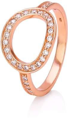 John Greed Rose Open Circle Ring