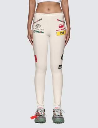 Off-White Off White Multilogo Sporty Leggings