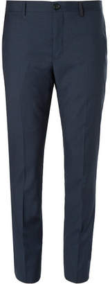 Paul Smith Slim-Fit Checked Wool-Blend Suit Trousers