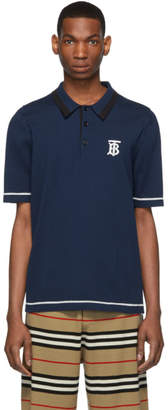 Burberry Navy Hadlow Polo