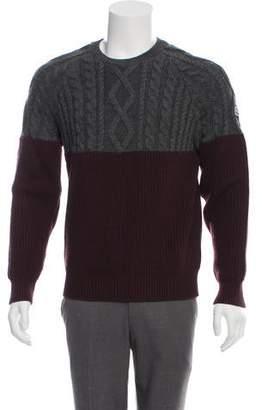 Moncler Crew Neck Wool Sweater