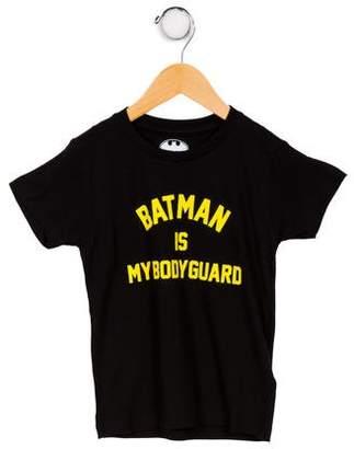 Little Eleven Paris Boys' Printed Short Sleeve T-Shirt w/Tags