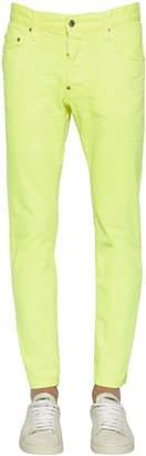 DSQUARED2 16cm Skater Stretch Cotton Denim Jeans