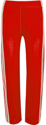 Etoile Isabel Marant Dobbs Striped Jersey Track Pants - Red