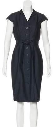 Calvin Klein Chambray Knee-Length Dress